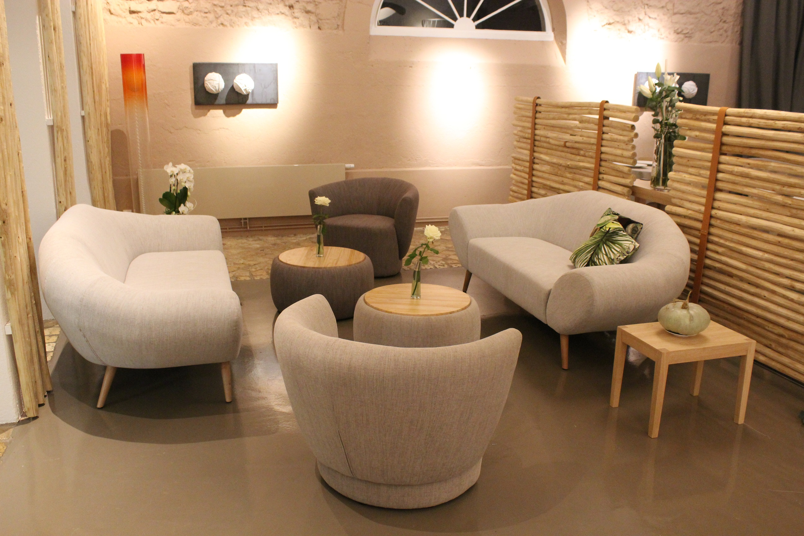 Mobiliers d'assise professionnels