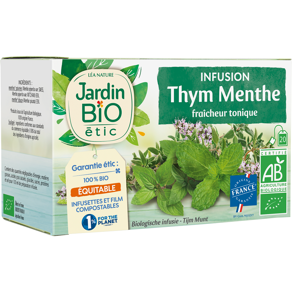 INFUSION THYM MENTHE BIO